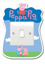 Peppa Pig Light Switch Vinyl Sticker Surround