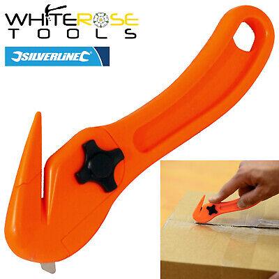 Silverline 868802 150mm Caja de película cortadora cortadora de flejado Abridor De Seguridad De Corte