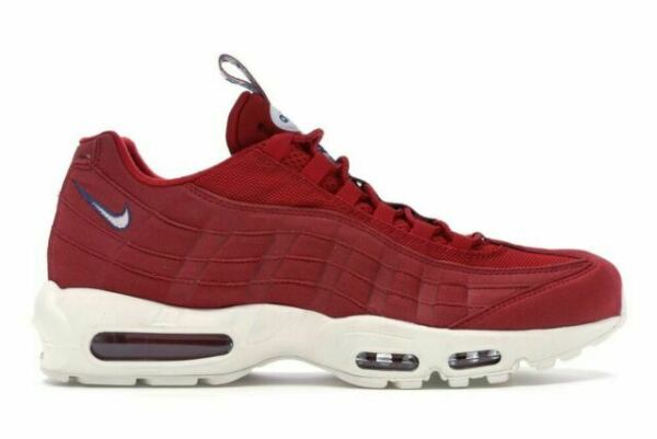 Size 12 - Nike Air Max 95 TT Pull Tab Gym Red 2018 for sale online | eBay
