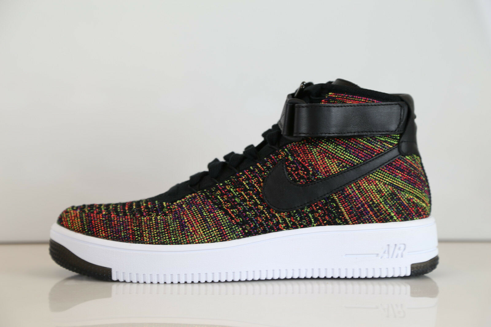 Nike AF1 Ultra Flyknit Mid Multicolor 817420-002 10.5 air force 1