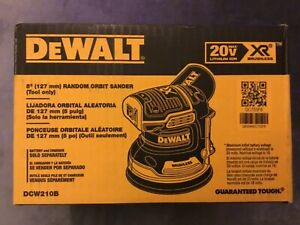 New-Dewalt-DCW210B-20V-Max-XR-Brushless-5-Random-Orbital-Sander-NIB-Bare-Tool