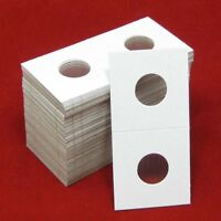 100 Cardboard 2x2 Coin Holder Mylar Flips For Cents