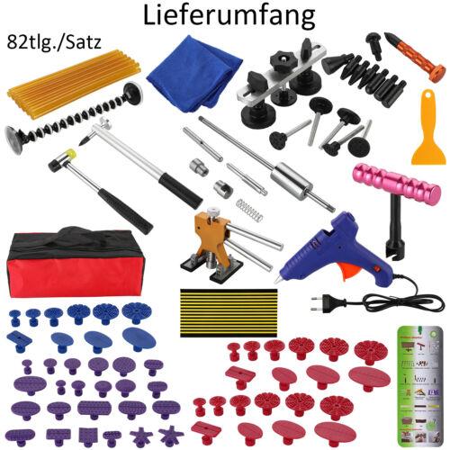 82 X Ausbeulwerkzeug Dellenlifter Reparatur Klebepistole Dellenentfernung Set Eu