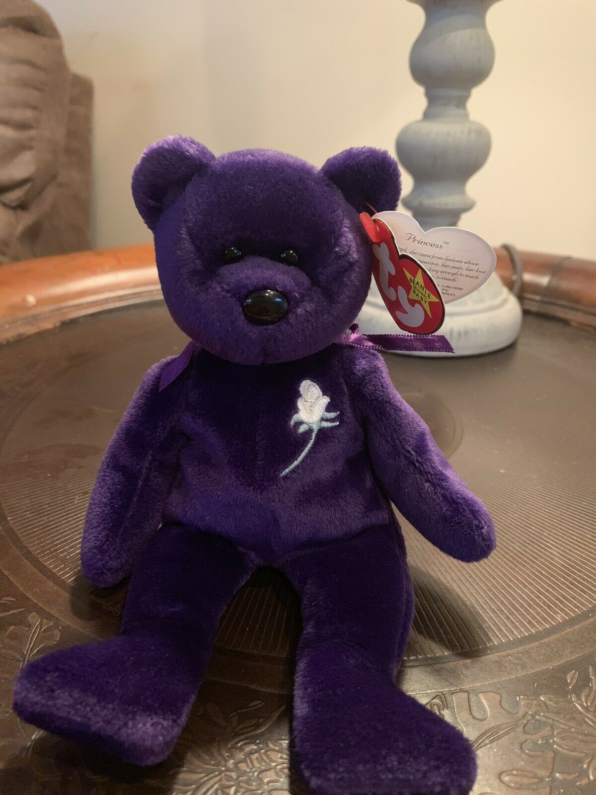 PRINCESS TY BEANIE BABY Extremely Rare First Edition