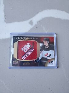 2017-Upper-Deck-World-Juniors-Julian-Gauthier-Team-Canada-Logo-Patch-Rookie