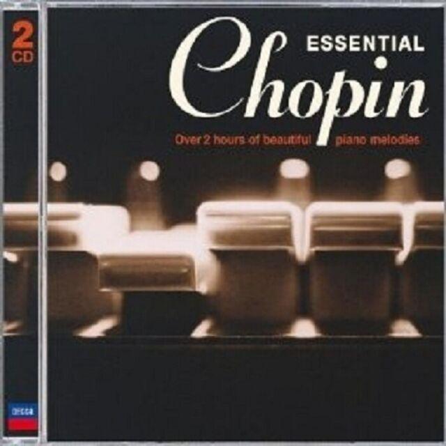 VLADIMIR ASHKENAZY - ESSENTIAL CHOPIN 2 CD NEU