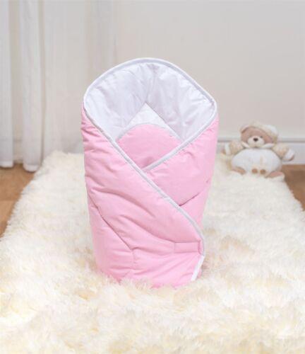 Säugling Windeln Neugeborenes Decke Steppdecke Luxus Weich Baby Wickeln