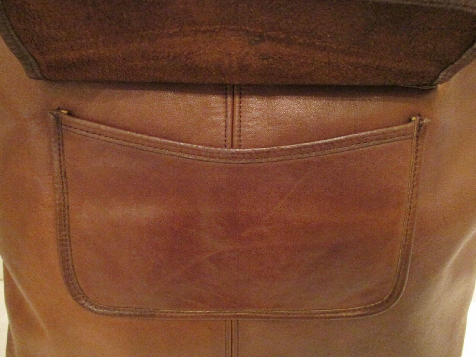 COACH Vintage Bonnie Cashin Pre-Creed Brown Leath… - image 5