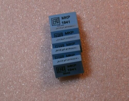 5 Metallized Polypropylene Film Capacitor 0.018UF 1600V MoreThan 0.015UF 0.01UF