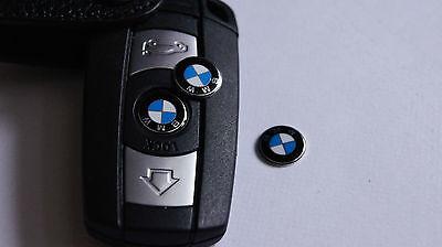 2x Genuine BMW Key Fob Remote Badge Logo Emblem  1 3 5 6 7 X Z M 66122155754