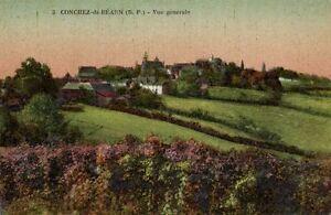 CPA CONCHEZ-de-BÉARN - Vue générale (171646)