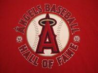 MLB Los Los Angeles Angels of Anaheim Baseball Team Logo California T Shirt XL