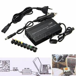 120w universal ac dc to dc adapter inverter car charger power supply for laptop ebay. Black Bedroom Furniture Sets. Home Design Ideas