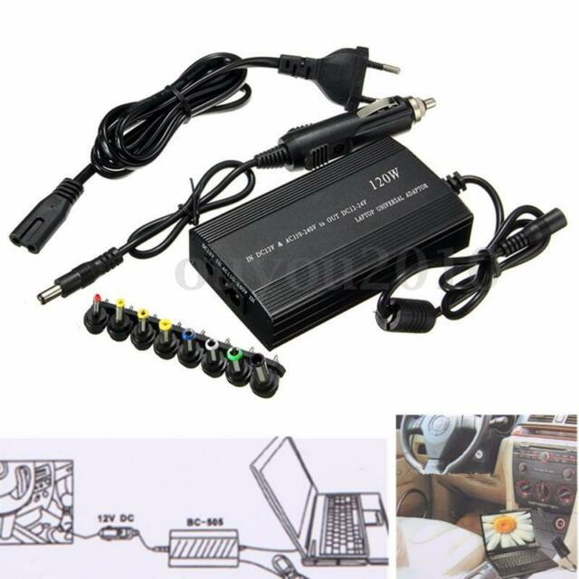 120w Universal Ac Dc To Adapter Inverter Car Charger Supply For Laptop