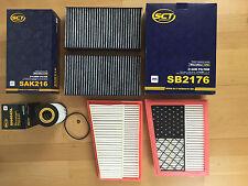 für Mercedes S-Klasse W221 C216 Innenraumfilter Pollenfilter 2er Set