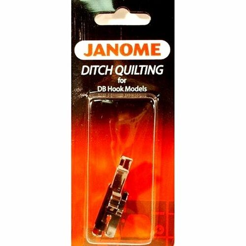 Janome Ditch Quilting Foot #767824109 for 1600p Series High Shank ... : ditch quilting foot - Adamdwight.com