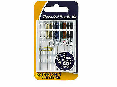 KORBOND HOME NEEDLE KIT 45 HAND SEWING ASSORTED NEEDLES