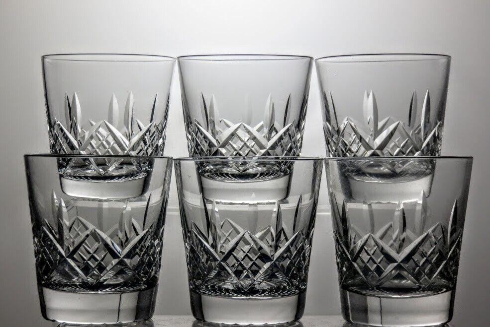 Stuart Crystal  Glengarry  coupe à plat 9 Oz (environ 255.14 g) verres à eau Lot de 6 - 3 1 2  Tall