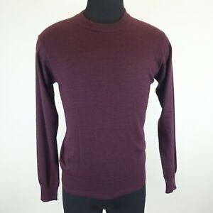 Dolce & Gabbana Purple Silk/Cashmere Blend Lightweight Sweater Size Unknown