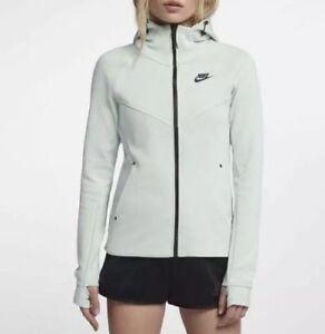85896897 $120 NEW NWT Women's Nike TECH FLEECE WINDRUNNER HOODIE 842845-006 ...