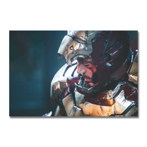 Iron Man Hot Movie Art Silk Poster Canvas Print 12x18 32x48 inch
