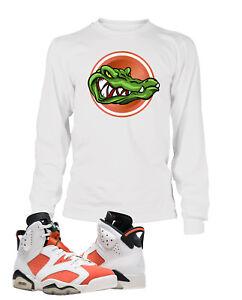 Details about Tee Shirt To match AIR JORDAN 6 GATORADE Shoe Men's Tee Graphic Gator Classic