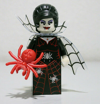 Spider Lady Witch Vampire Series 14 LEGO Minifigure Mini Figure Fig Minifig