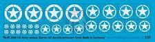 Peddinghaus 1/35 US Army Stars WWII (Invasion - Broken Circle) (White) 2090