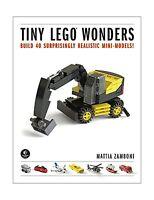 Tiny Lego Wonders: Build 40 Surprisingly Realistic Mini-models Free Shipping