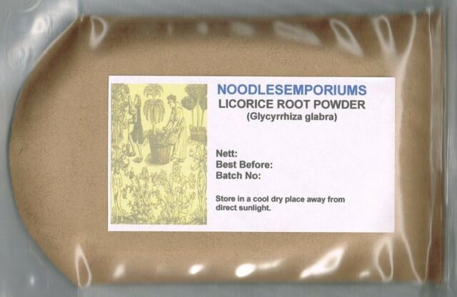 Licorice Root Powder Liqourice WILDCRAFTED 50g (Glycyrrhiza glabra) Non GMO