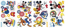 Disney MICKEY MOUSE CLUBHOUSE wall stickers 31 decals scrapbook Goofy Pluto