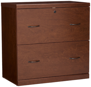 Lateral File Cabinet Wood 2 Drawer