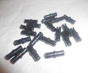 Lot-de-20-pins-noir-LEGO-TECHNIC-Ref-2780