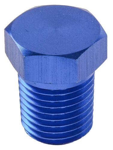 JEGS 100432 Aluminum Pipe Plug 3//8 in NPT