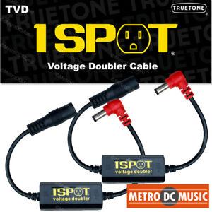 2-Pack-Truetone-TVD-Pedal-Voltage-Doubler-Cable-1-Spot-18V-24V-No-Switch-Noise