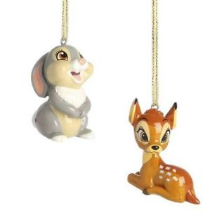 Details About New Primark Disney Brand New Bambi And Thumper Christmas Decorations