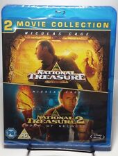 National Treasure 1 & 2 Double Pack [Blu-ray] [Region Free] NEW - Free Shipping