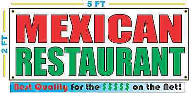 BARBACOA Banner Sign NEW Larger Size Best Quality for The $$$ MEXICAN RESTAURANT