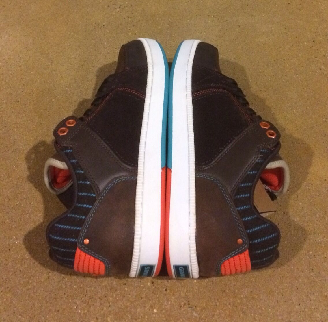 Gravis Viking Arto Saari Size 7 Dark Coffee Baltic Burton BMX DC Skate Shoes