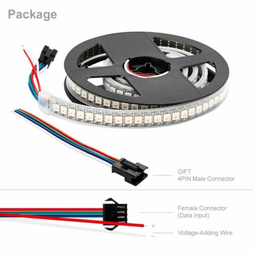 Waterproof WS2815 1M 144 Pixels Dream Color led strip DC12V Upgraded WS2812B