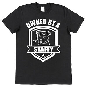 OWNED BY A SHAR PEI T-SHIRT For Dog Lover Pet Owner Black Cotton Gift