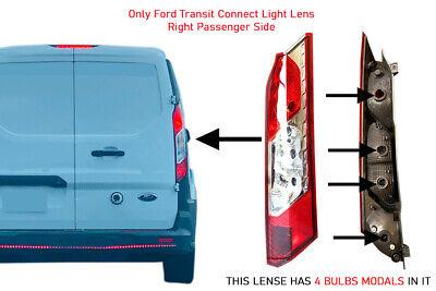 Ford Transit Cargo 150 250 350 Back Door Taillight Lens Right Passenger 2014 015