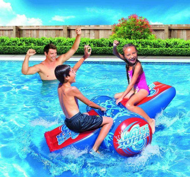 Siva Toys Inflatable Water See Saw Swing Water Totter Swimming Pool Toy 226926