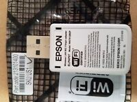 Epson Wireless Wifi Lan Network Adapter Dongle Powerlite 1760w 1761w 1222 1835