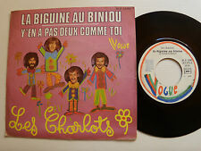 "LES CHARLOTS : La BIGUINE au BINIOU - 7"" 1976 French pressing VOGUE 45 V 14091"