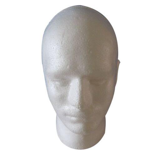 Peluca masculina Display cosmetologia Maniqui soporte de la cabeza Modelo e E0W2