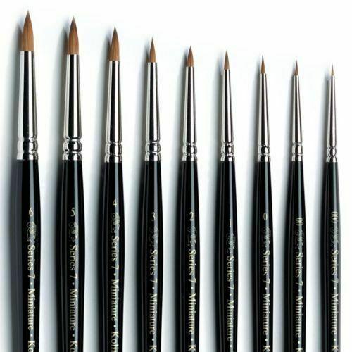 Winsor /& Newton Series 7 Kolinsky Sable Artists Brush  Size 8