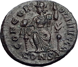 VALENTINIAN-II-378AD-Roma-Constantinople-Authentic-Ancient-Roman-Coin-i57959