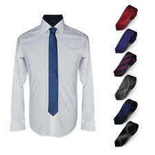 Cravattino Merc Dam Seta scacchi bianco nero Cravatta taglia unica uomo 1008109