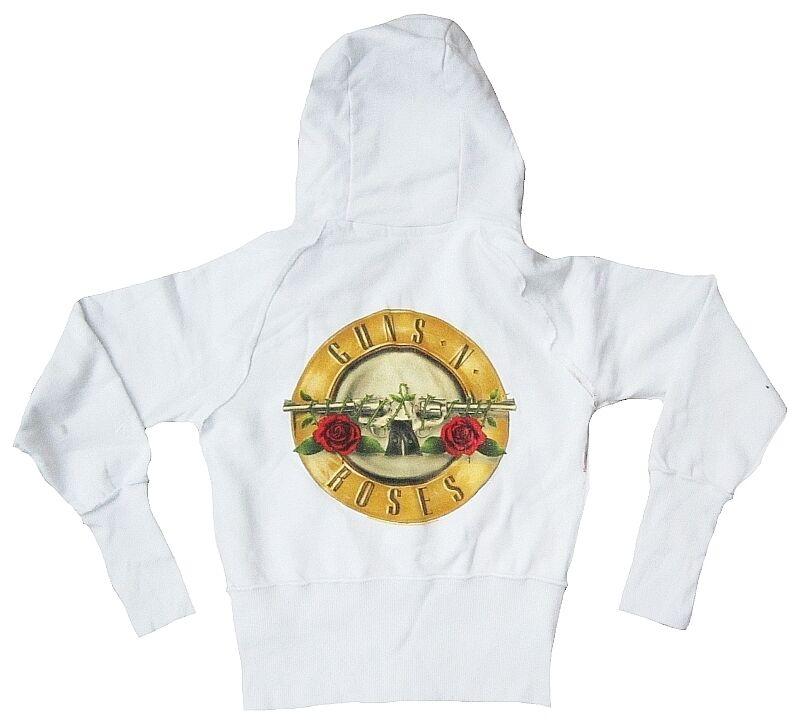 Amplified Guns n roses Drums logo rock star vintage capuche sweat à capuche veste l xl